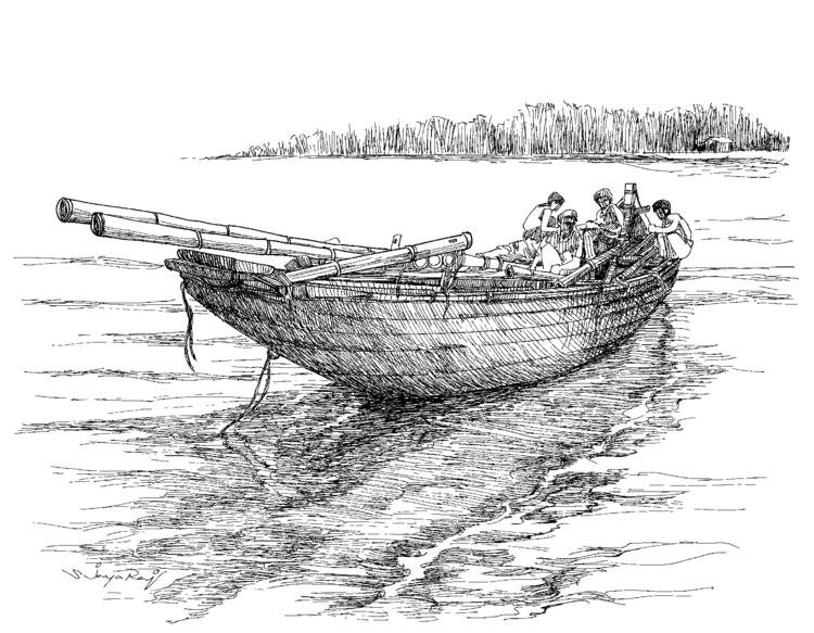 Fishing Boat- Bangladesh - illustration - sjayaraj999 | ello