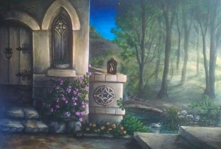 Dawn - acrylic painting - art, fineart - spirita | ello