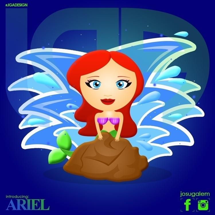 Ariel - ariel, thelittlemermaid - josugalem | ello