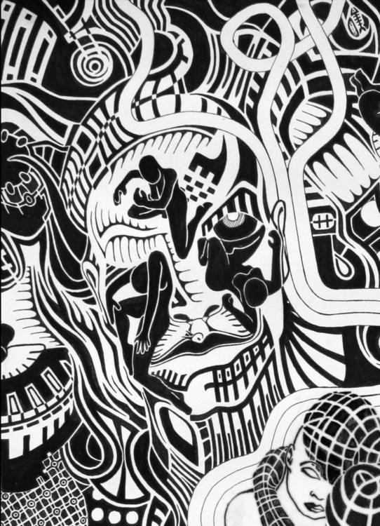 detail - dtail, blackandwhite, blackandwhite - rhodis99 | ello