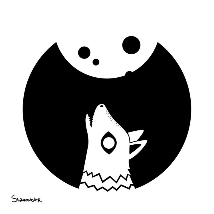 wolf - illustration - shaurmaster | ello