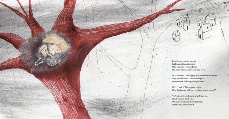 Illustration Weatherboy - children'sbook - kristoftekent | ello