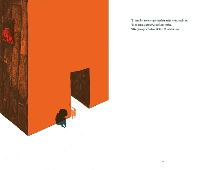 Illustration Schim (Shadow - children'sillustration - kristoftekent | ello