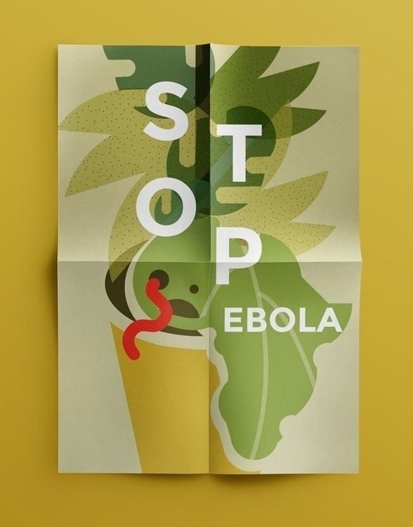 Ebola awareness poster contribu - magdaazab | ello