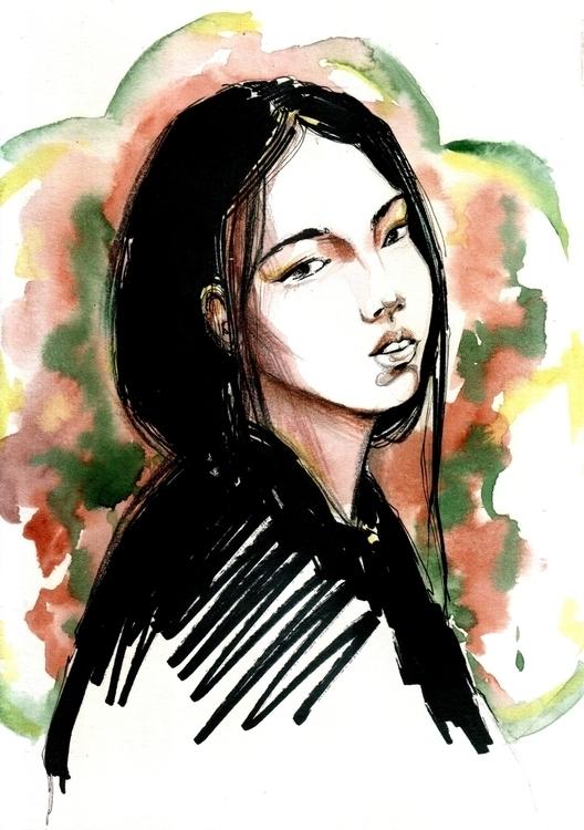 Art_Atlas Beauty - illustration - annagosteva | ello