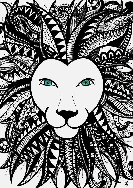 LionKing - handmade, lion, ilustration - angelapatricia | ello