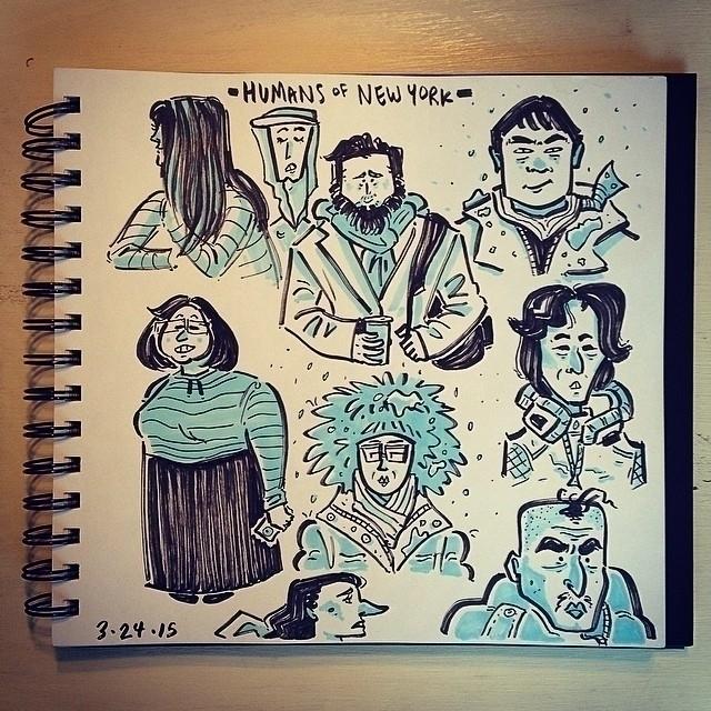 Humans York sketches  - 1, sketch - carolinedirector | ello