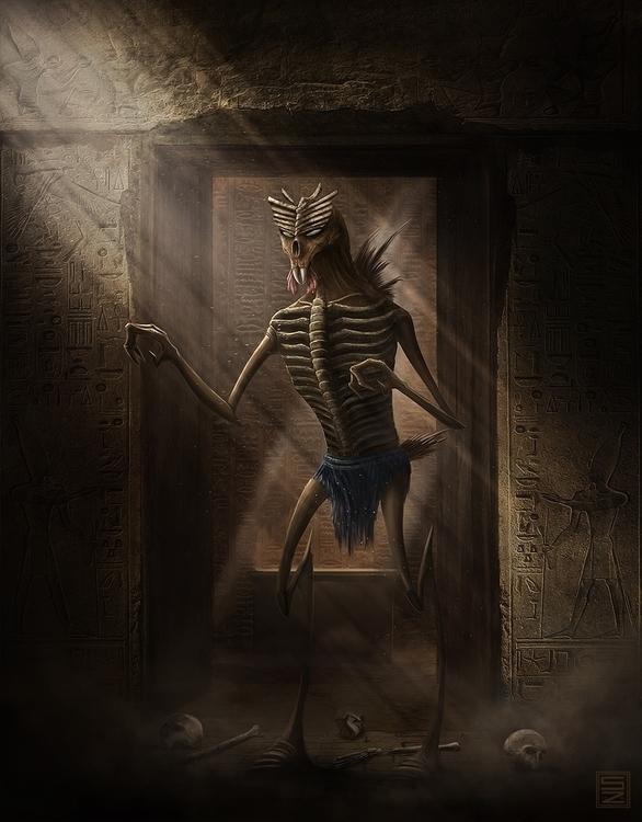 Egyptian Creep - egyptian, creep - shadothezombie | ello