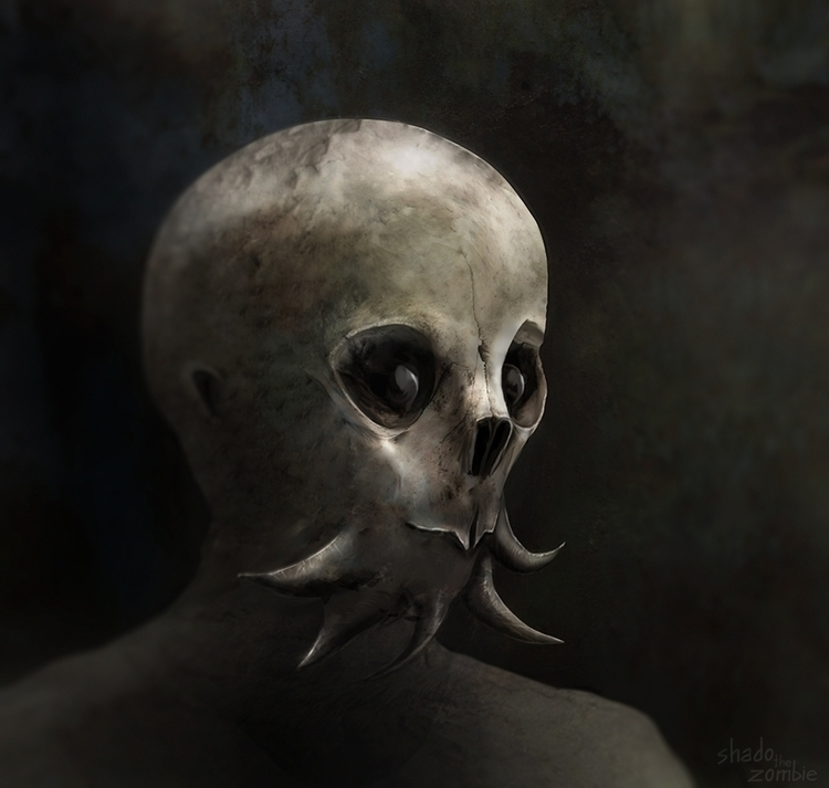 Carl - carl, characterdesign, alien - shadothezombie | ello