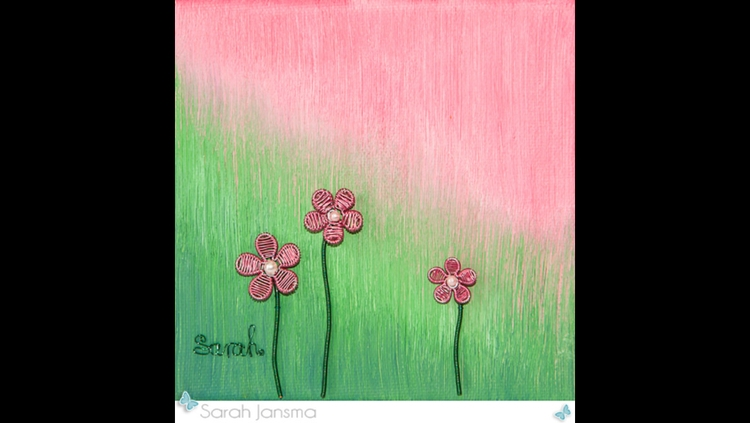 Pink Green - Painting, Sculpture - sarahjansma | ello