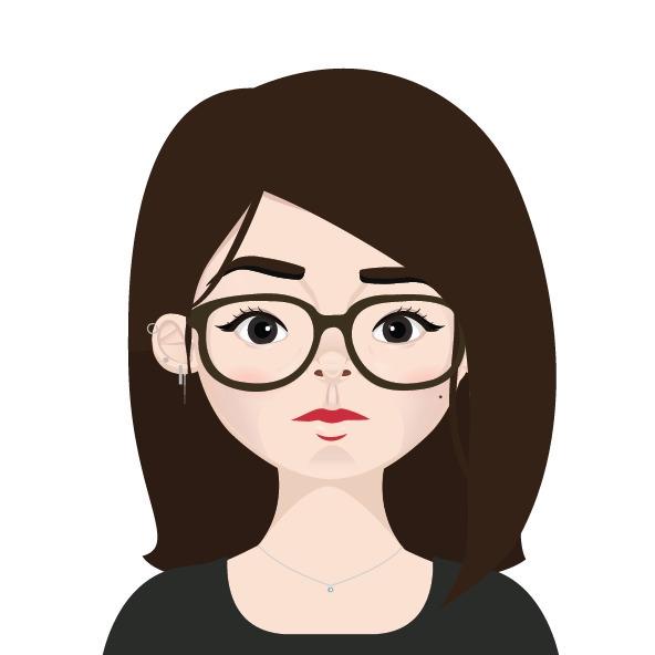 selfportrait, vector, ilustration - lindseyng | ello