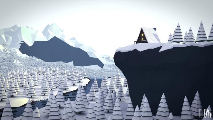 mountain explorers paradise - 3d - tdhgrafics | ello