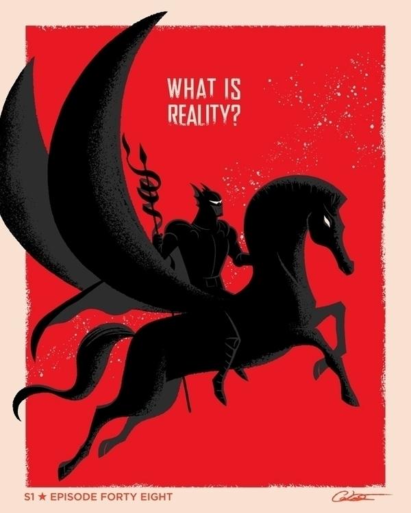 poster Episode 48 Batman Animat - caltsoudas | ello