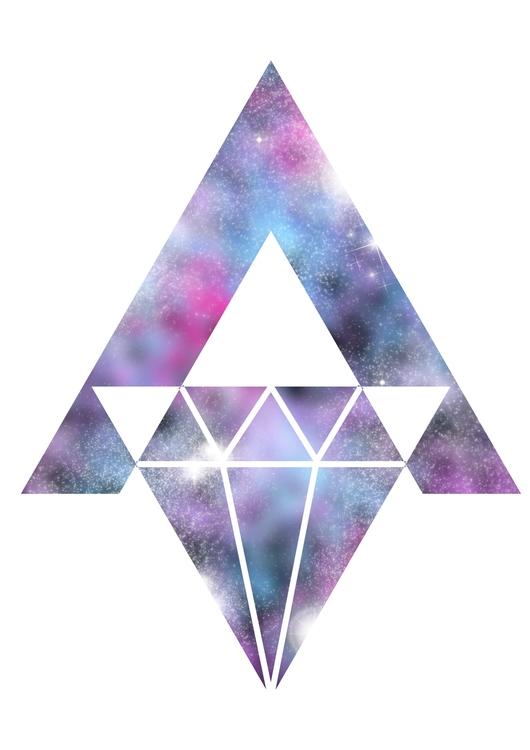 Abstract design - nebula, space - vanynany   ello