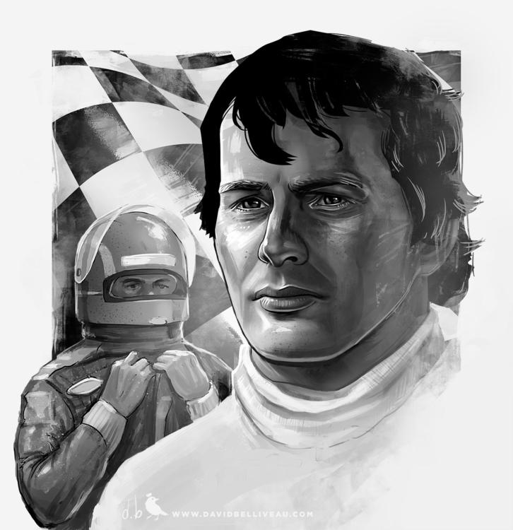 Tribute F1 racer Gille Villeneu - davidbelliveau | ello