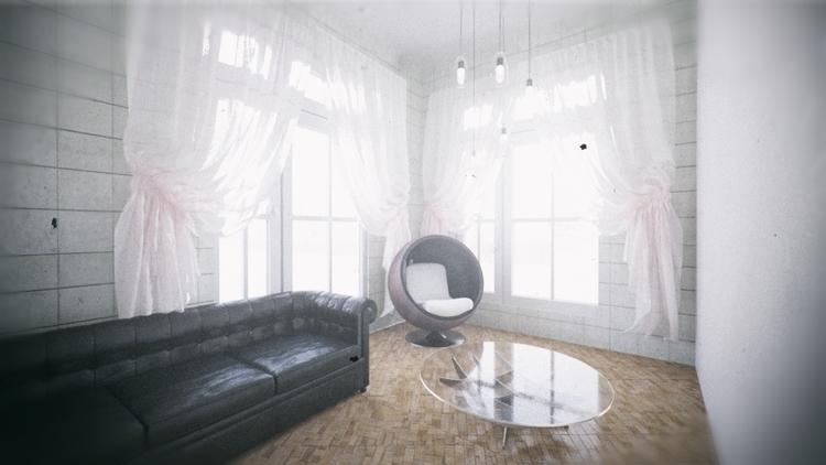parquet corona render, PS - #parquet#coronarender#3dsmax#interior#?????#???????#???? - artemroy | ello