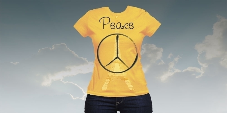 Peace tee - graphicdesign, tshirtdesign - mandidennie | ello