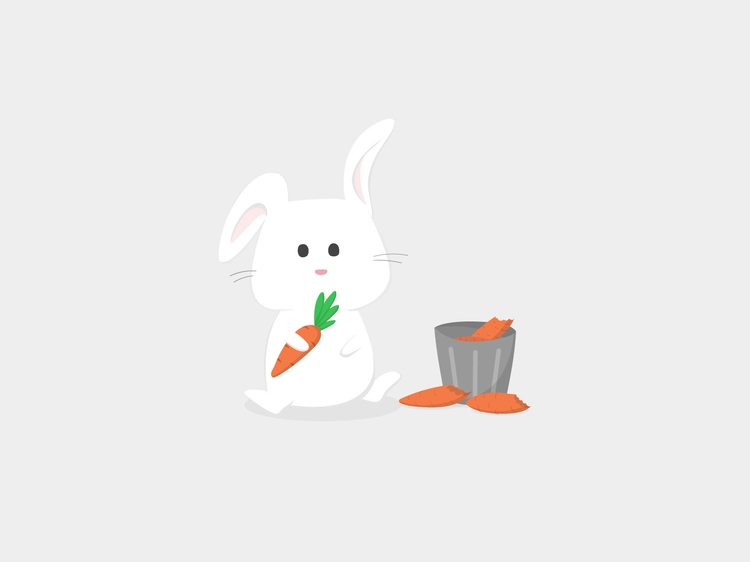 Bunny - bunny, illustration, illustrator - soumya-3655 | ello
