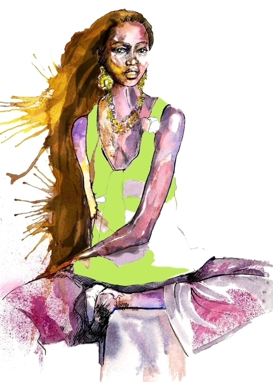 African fashion model - ken-1370   ello
