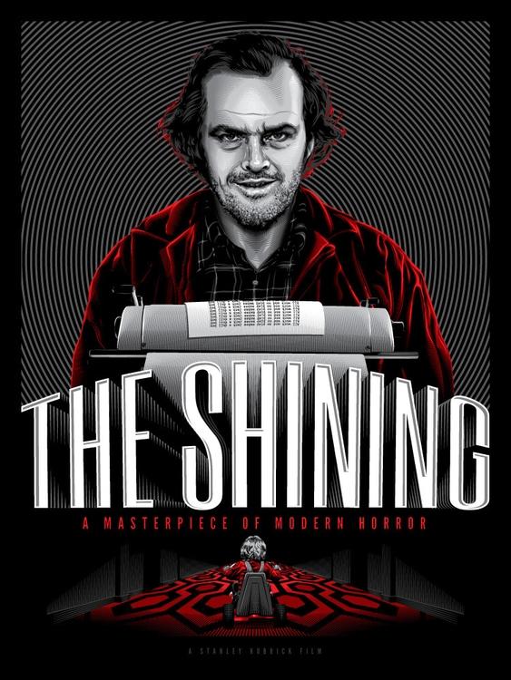 Shining - stanleykubrick, movieposter - tracieching | ello