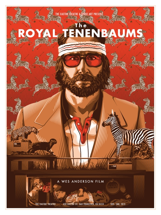 Royal Tenenbaums - movieposter, poster - tracieching | ello