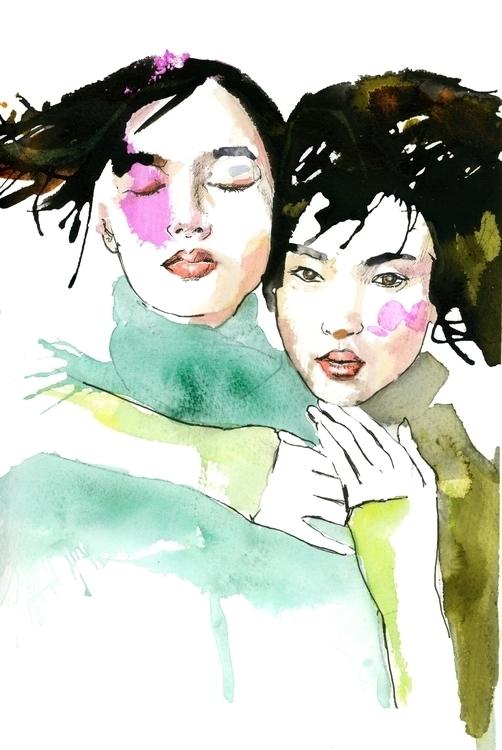 Chinese fashion models - ken-1370   ello