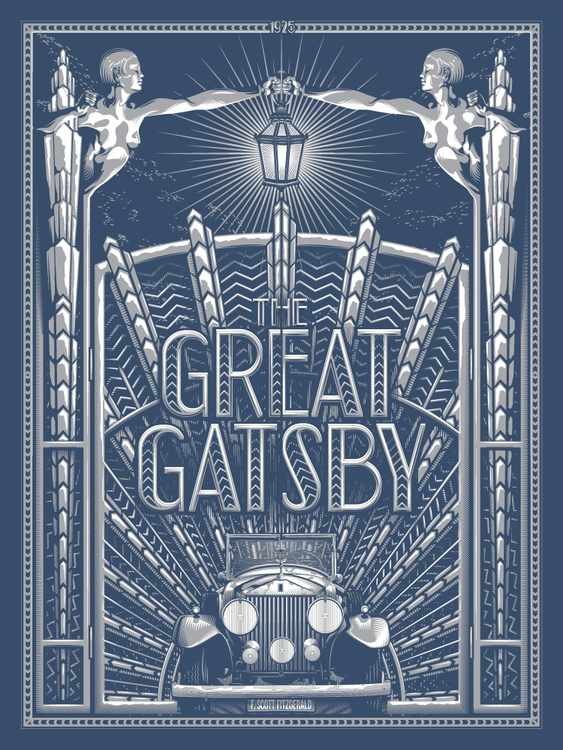 Great Gatsby - Read Solo Show - illustration - tracieching | ello