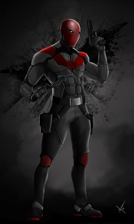Fan art Red Hodd - redhood, illustration - warnergarron | ello