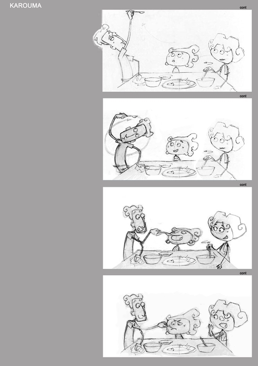 Karouma Storyboard - animation, storyboard - boubaker-5250 | ello
