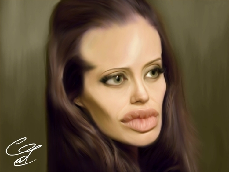 Angelina Jolie - angelinajolie, portrait - gopher-1289 | ello