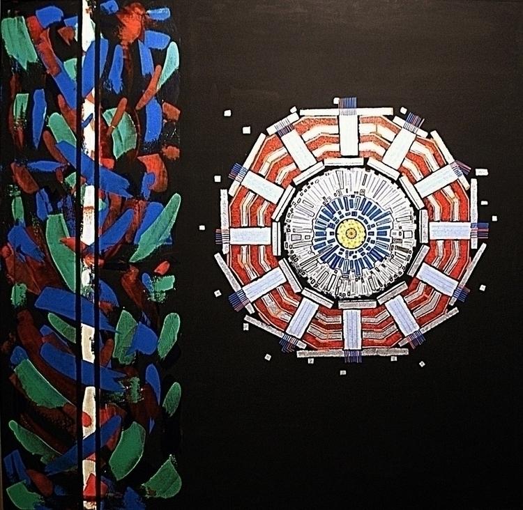 CMS acrylic canvas 120.120 cm - cms - pacofalco | ello