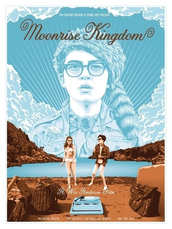 Moonrise Kingdom - alternativemovieposter - tracieching | ello
