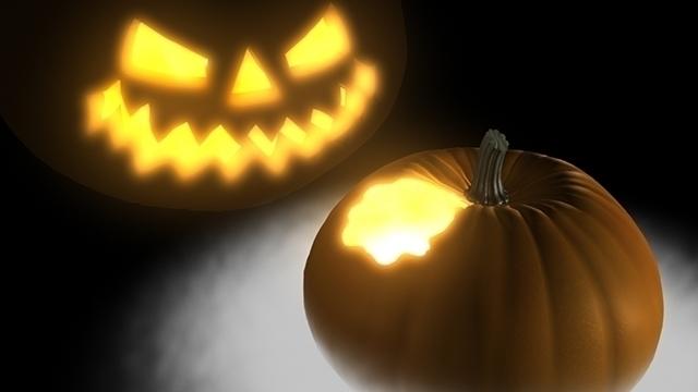 Pumpkin - 3D digital art print - theonlykoala | ello