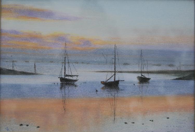 Silence - boat, moning - sera-9068 | ello