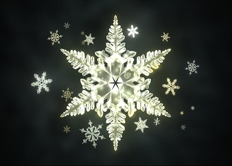 Traditional Sunlight Snowflakes - theonlykoala | ello