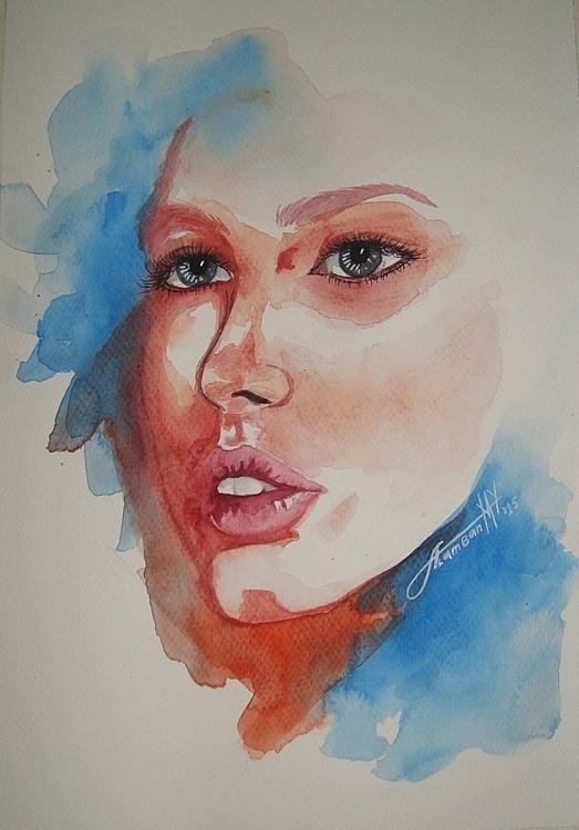 Perception - illustration, portrait - thearthobo | ello