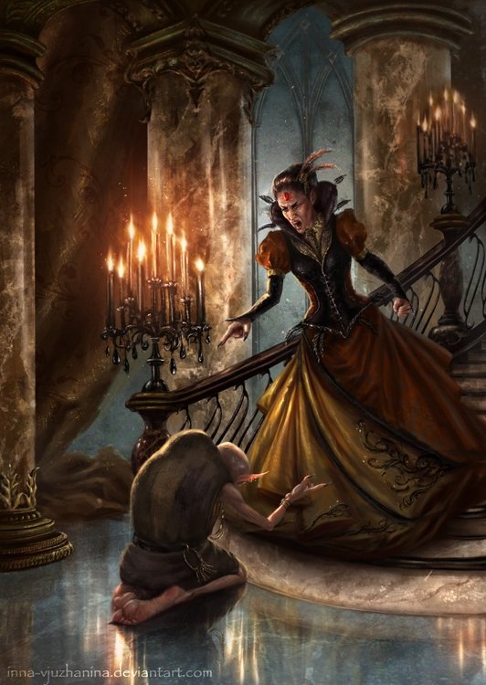 witch, monster, palace, gothic - innavjuzhanina | ello