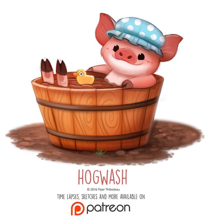 Day 1409. Hogwash - piperthibodeau | ello
