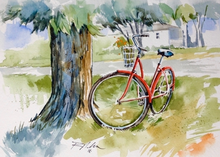 Untitled - watercolor - rlnelsonmo | ello