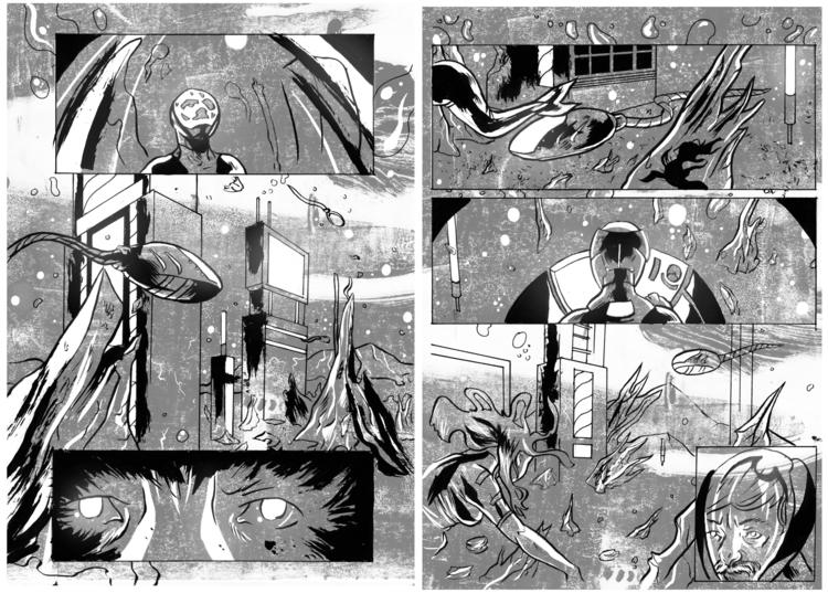 illustration, comics, drawing - jjscottillustration   ello