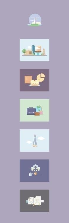 Illustrations online brokerage - izhik | ello