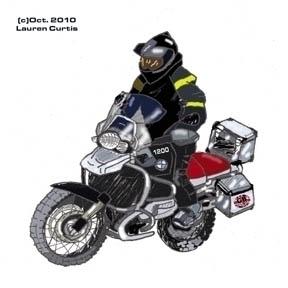 Illustration UK Motorcycle org - laurencurtis | ello