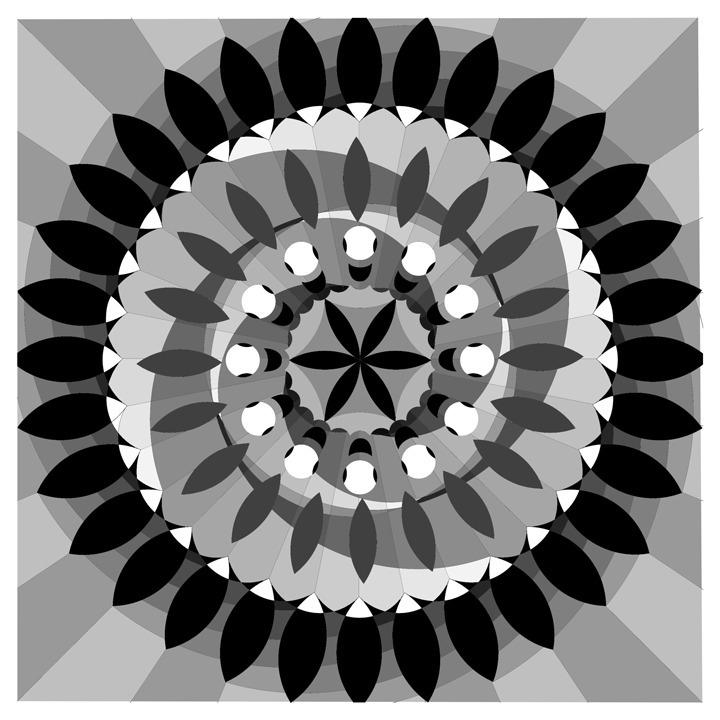 illustration, mandala, kaleidoscope - emarchena | ello