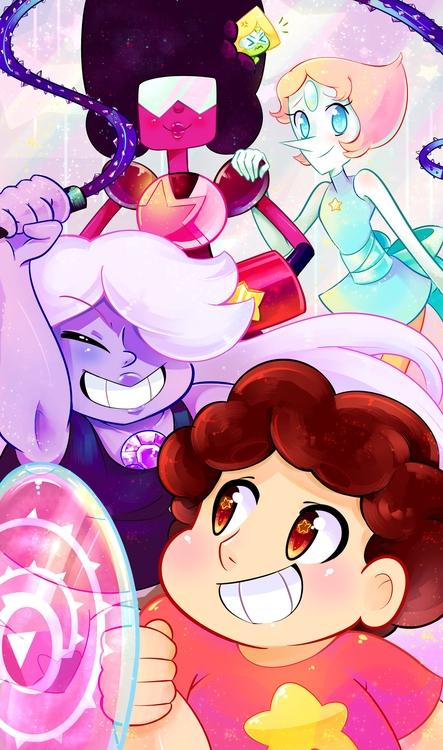 crystal gems - stevenuniverse, stevenuniversefanart - princessmisery   ello