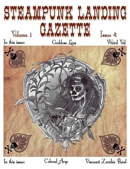 Cover art design Steampunk Land - laurencurtis | ello