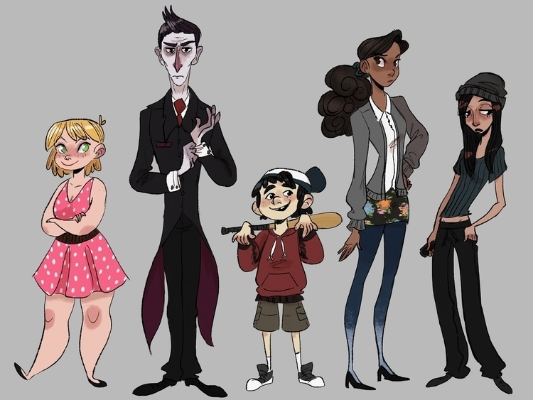 character designs - characterdesign - susandrawsthings | ello