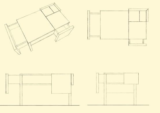 Tavolo Aureo - furnituredesign, wood - melissa_domenici | ello