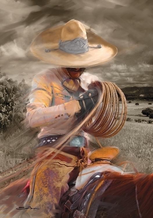 rope - Reata, Rope, charros, charreria - emilioartist | ello