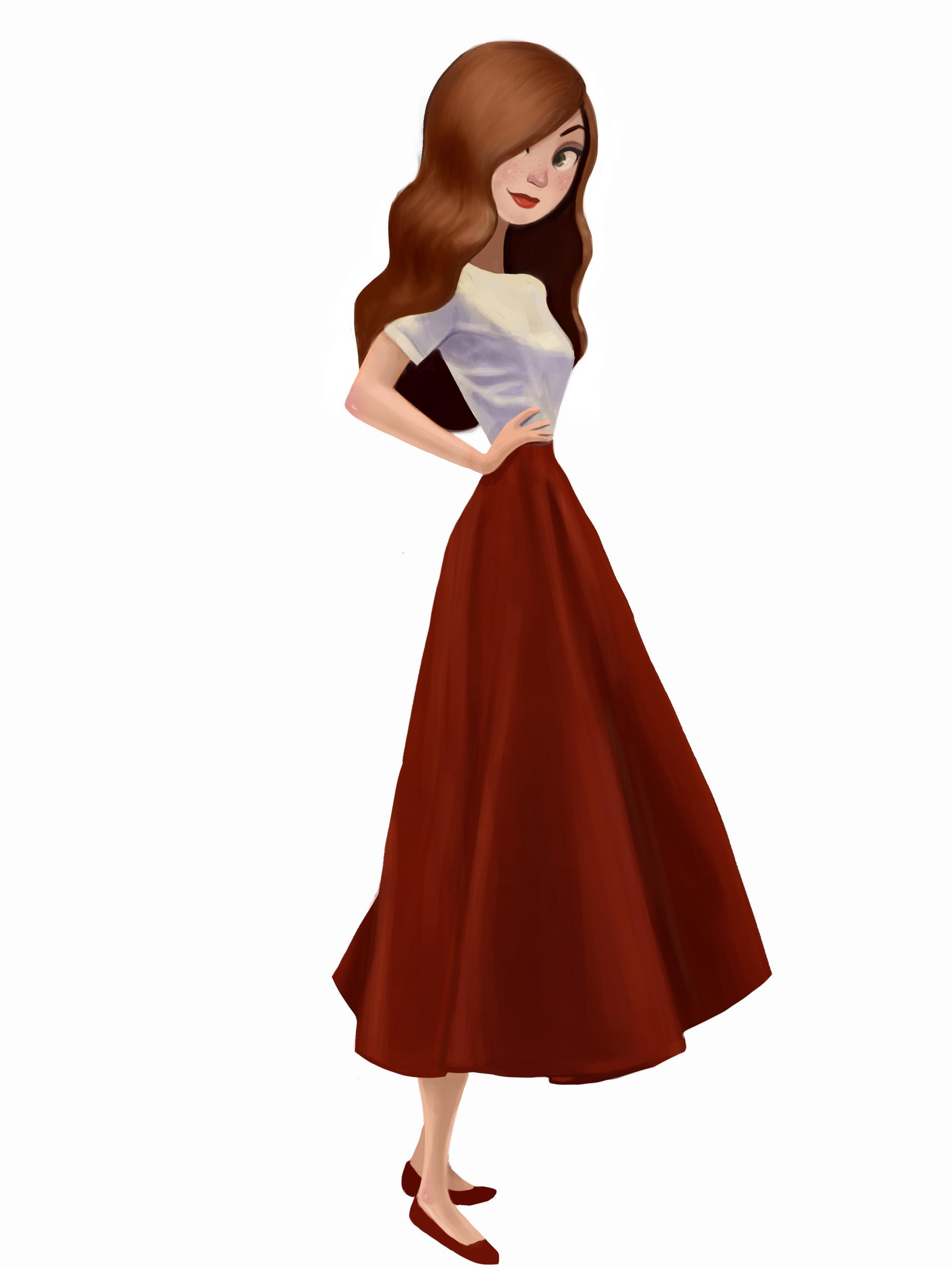 Red Head - fashion, vintage, girl - ashleyodell | ello