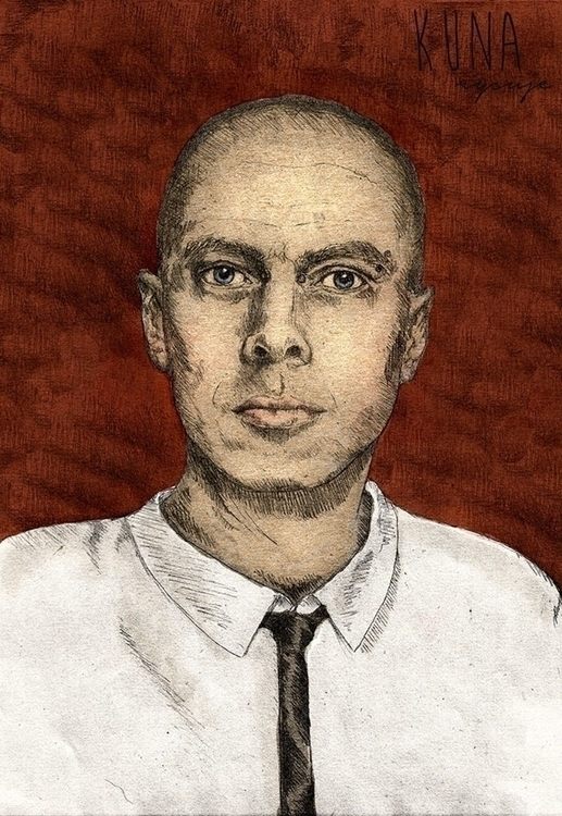 boy - portrait, mixedmedia - kunarysuje | ello